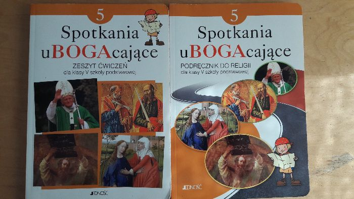 Religia podręcznik i ćwiczenia klasa 5 Spotkania ubogacające Warszawa - image 1