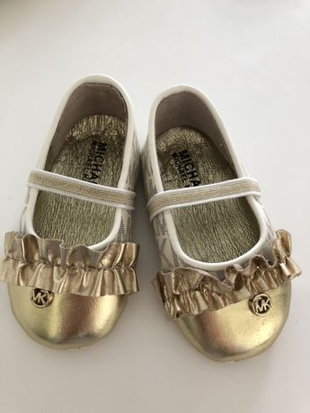 Baletki Michael Kors Baby rozmiar 18, długość wkładki 10,5 cm