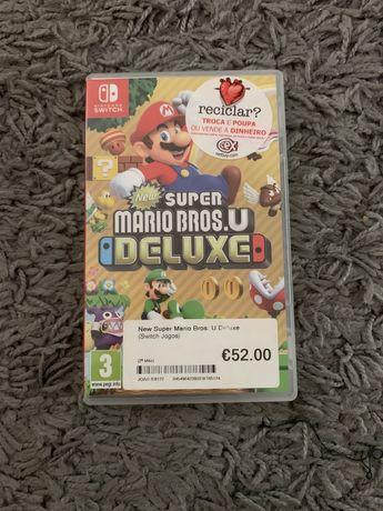 Jogo Super Mario Bros Deluxe - Nintendo Switch