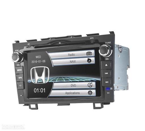 "AUTO RADIO TIPO OEM HONDA CRV 07-11 USB GPS TACTIL 7"" HD"
