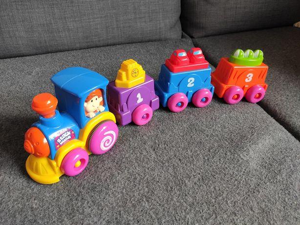 Pociąg jeżdżący zabawka, jak nowy, Smyk
