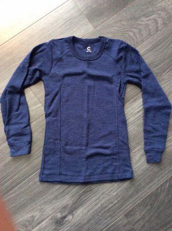 Bluzka 100% wełna merino Cubus Woolmark 134/140 NOWE