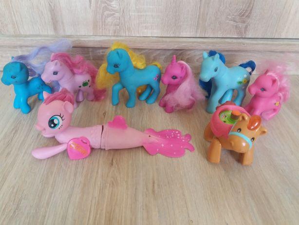 lalka gadająca, koniki pony,