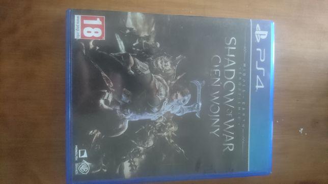 Gra Middle Earth Shadow of War Śródziemie Cień Wojny PS4
