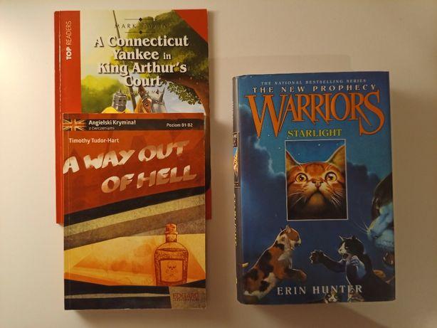 """Książki w języku angielskim - """"Warriors"""" oraz """"A way out of hell"""""""