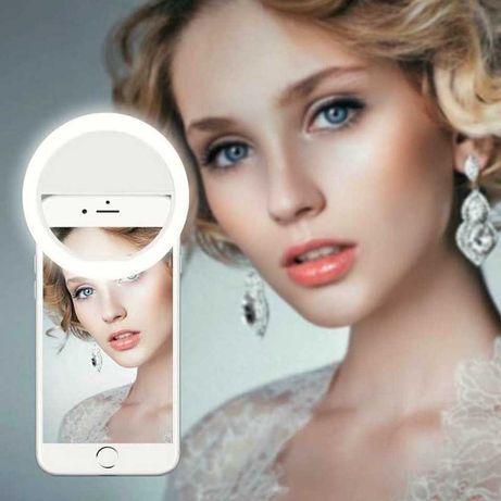 лампаКольцевая световоеSelfie Ring Light Кольцо для селфи светоДиодное