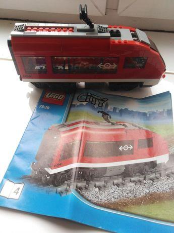 Lokomotywa końcowa 7938 Lego pociąg