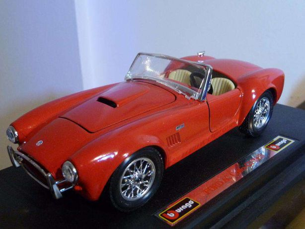 Carro de Colecção Burago 1:24 mod.Ford AC Cobra 427