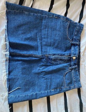 Spódniczka jeansowa jeans H&M