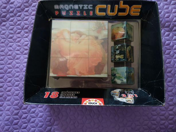 Puzzle cubo magnético