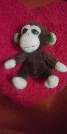 М'яка іграшка мавпочка з блискучими очима