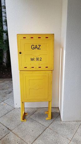 Skrzynka gazowa 600x600x250 z postumentem