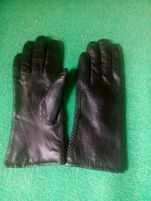 Перчатки кожаные женские Харьков - изображение 1