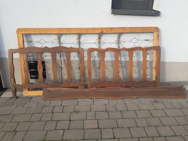 Łóżko drewniane, stare. Sprzedam