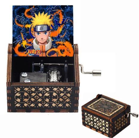 Naruto caixa de música, prenda, aniversário, novidade