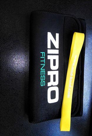 Pas treningowy Zipro fitness+GRATIS taśma do ćwiczeń