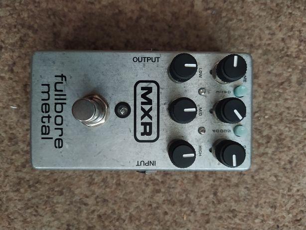 Гитарная педаль эффектов MXR fullbore metal