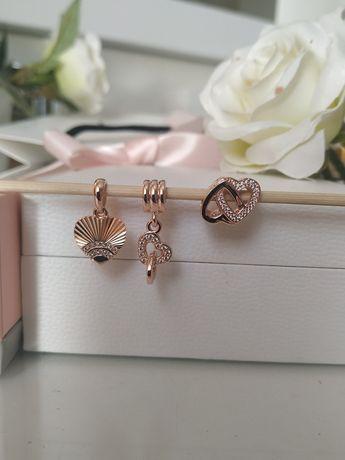 Charms zawieszka Pandora Rose Gold Nowe z dowodem zakupu