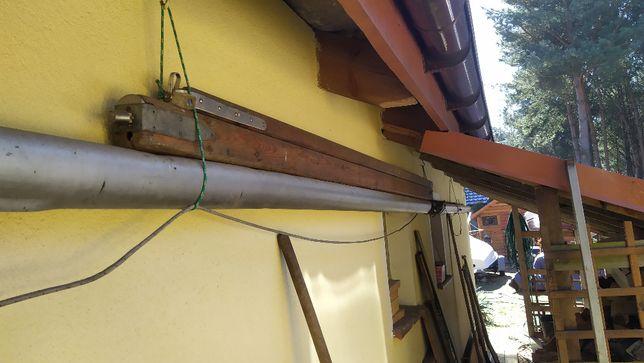 bom drewniany do zaglowki dlugi 2,65 metra