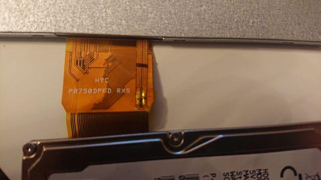 "Wyświetlacz ekran LCD 7"" P0750DPFD 50pin"