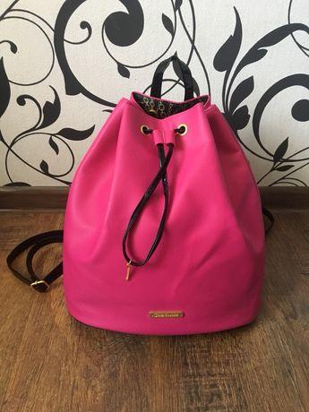 Рюкзак juisy couture оригинал неоновый розовый рюкзак