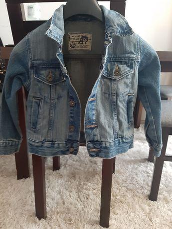 Kurtka jeansowa dziewczęca rozmiar 4-5lat OKAZJA