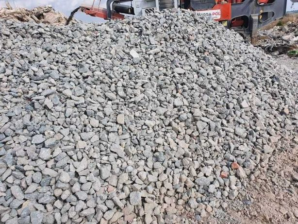 Sortowane kruszywo betonowe