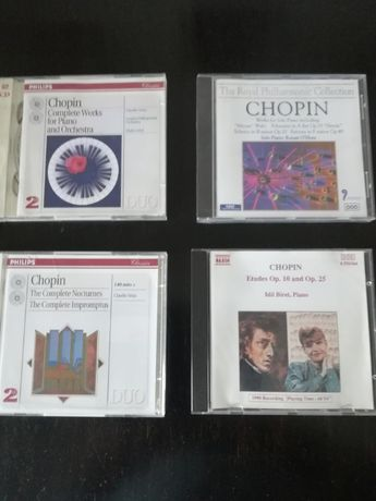 CD'S Música Clássica Chopin e Outros