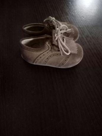 Sapatos carneirinhos pele 19 flex zone excelente estado oferta envio!