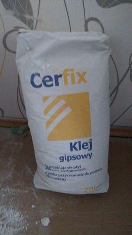 Klej gipsowy Cerfix 20kg do płyt kartonowo-gipsowych - NOWY