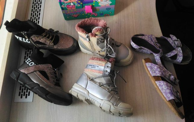 цена за ВСЁ! Сапожки ботиночки босоножки