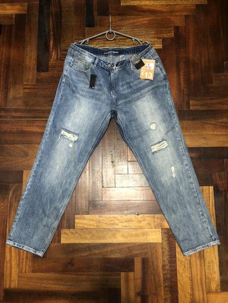 New женские джинсы Next Straight 44 Eur 100% cotton levis edwin рваные
