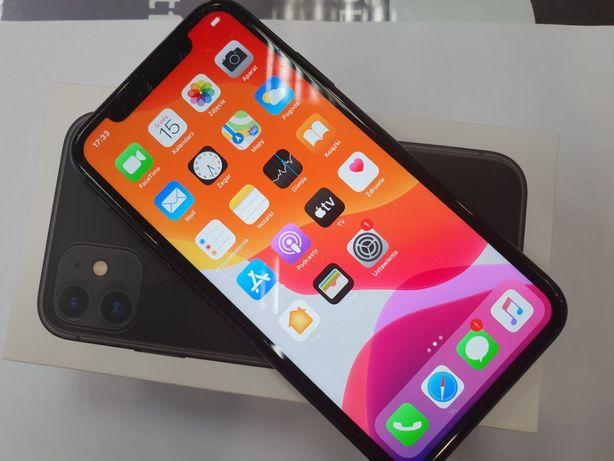 Okazja! Iphone 11 128GB/ Czarny/ Gwarancja/ 100% sprawny/ bateria 95%