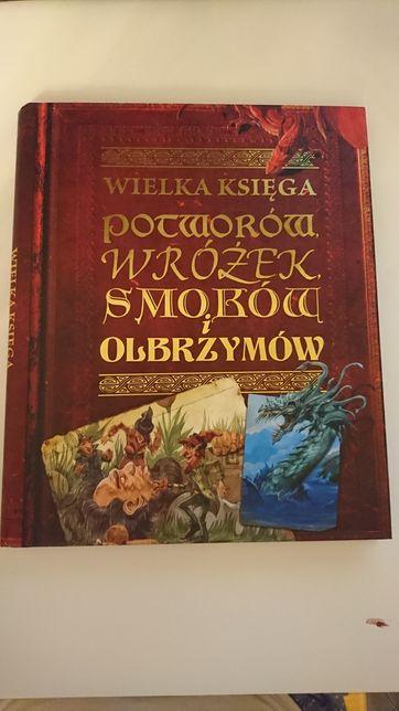 Wielka księga wróżek smoków i olbrzymów - wyd PWN