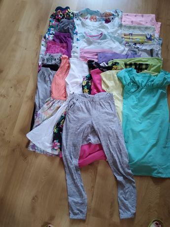 Zestaw ubrań letnich dla dziewczynki,134-140,27 szt