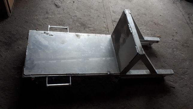 wózek połaciowy aluminiowy
