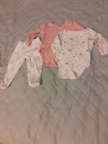 Body niemowlęce i półspioszki 56 cm