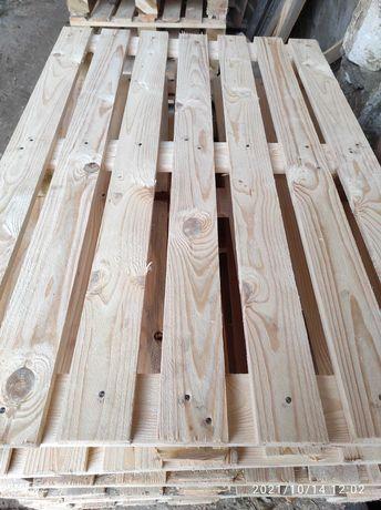 Поддоны деревянные новые 1200/800 в наличие.