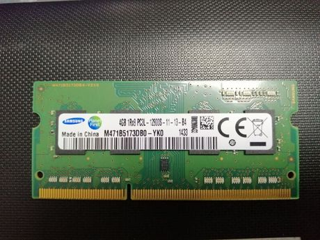 Оперативная память Samsung 4 GB 1R×8 PC3L-12800S-11-13-B4