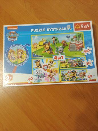 Puzzle Bystrzaka Trefl Psi Patrol 4w1