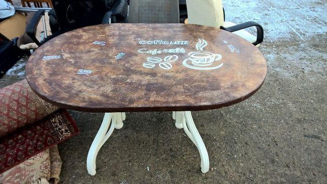 Piękny stół prowansalski - prowansja handmade retro shabby shic