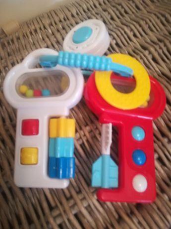 Brinquedo: chaves musicais