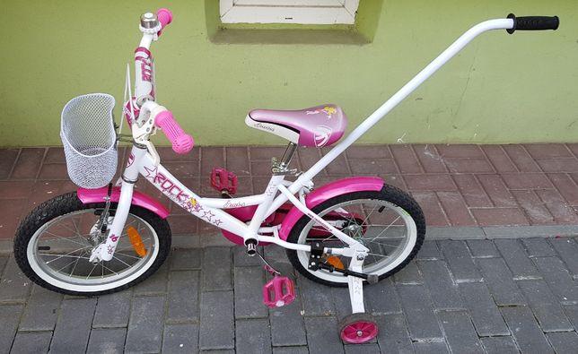 """Rower dziecięcy 16"""" Rock Kids Starlet"""