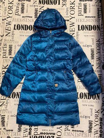 Зимние пальто -пуховик LandsEnd р 10-12 состояние отличное