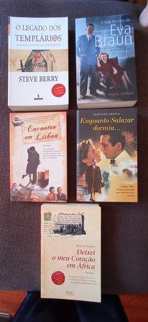 Lote de vários Livros