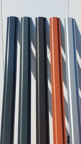 Sztachety metalowe panele ogrodzenie płot wiata