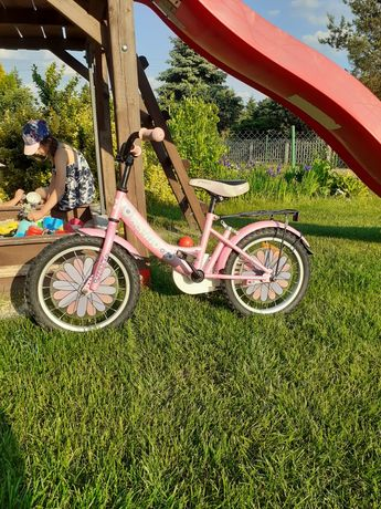 Rower rowerek dla dziewczynki. Koła 16 cali.