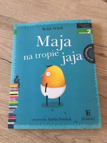 Książeczka Maja na tropie jaja. 5-7 lat.