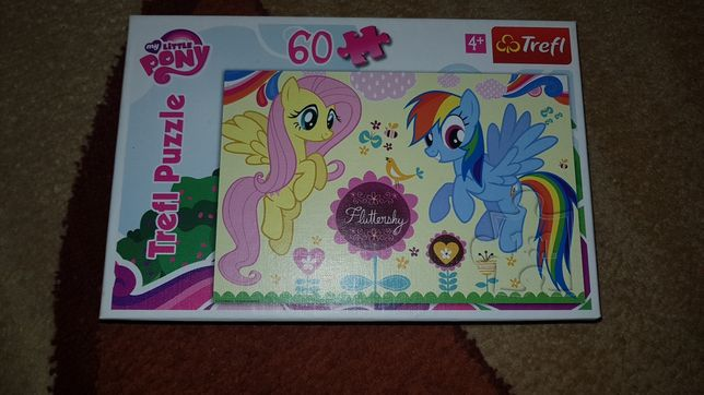 Puzle dla dziecka 4+ My Little pony Puzzle