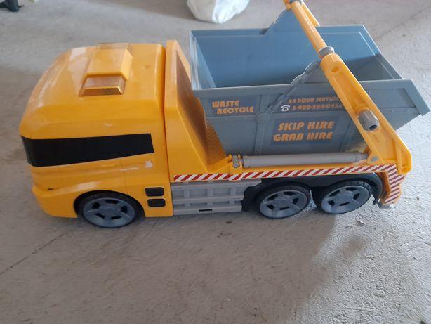 Zabawka ciężarówka - dźwięki